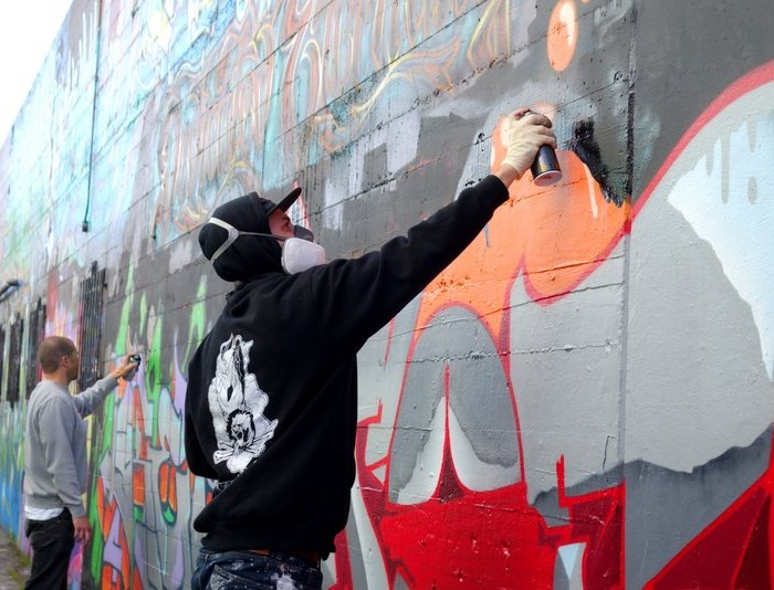 Graffiti Street Artists in Haight-Ashbury