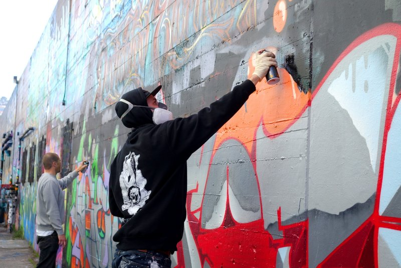 In Pictures – Graffiti Artists in Haight