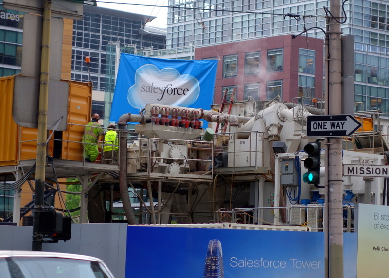 Salesforce Lays Claim To Transbay Tower