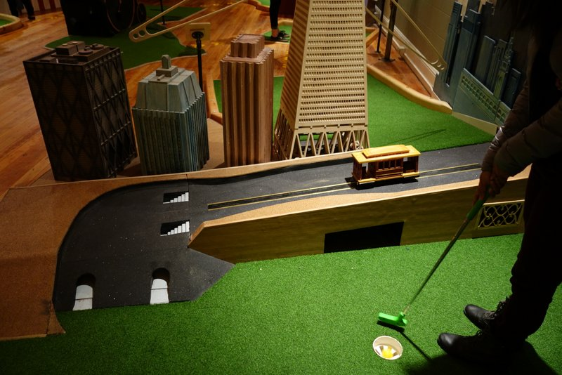 Making Par At Urban Putt