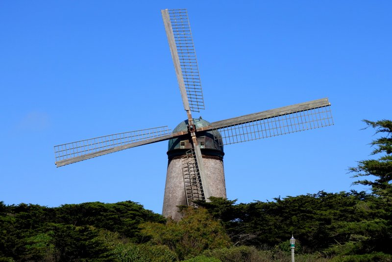 Golden Gate Park Dutch Windmill