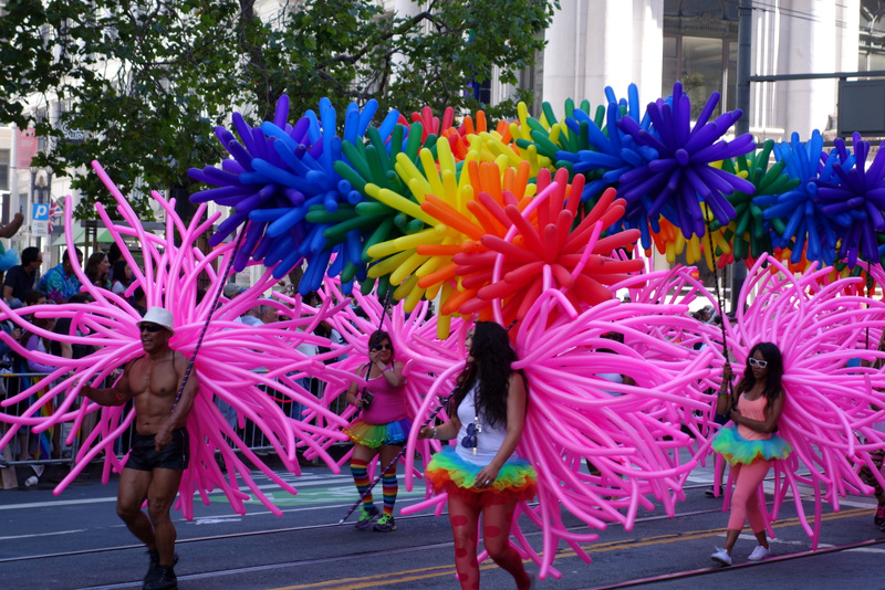 Coloring San Francisco With Pride