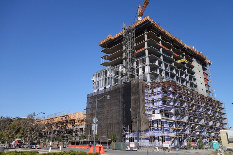 Equity Residential's Mission Bay Tower Gaining Height
