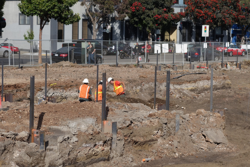 Excavation Underway At Expansive 350 8th Street Site