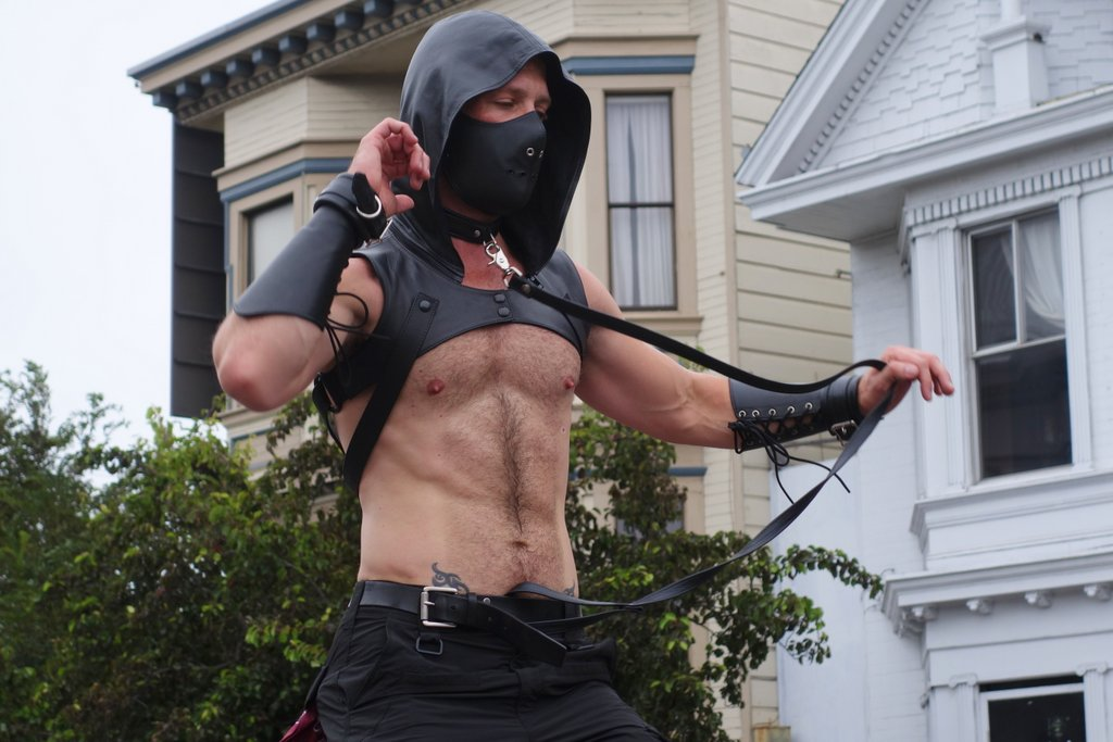 Ready To Play At The Folsom Street Fair (NSFW)