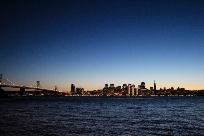 In-Pictures-San-Francisco-Skyline-From-Treasure-Island-Christmas-Sunset-twilight-2014