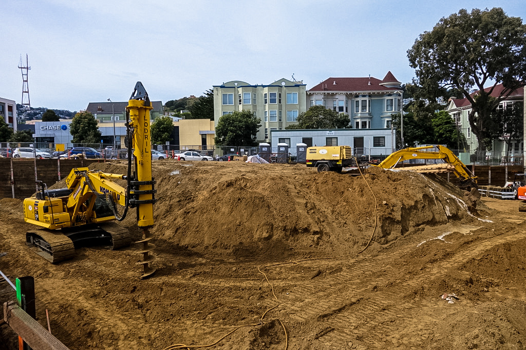 Excavation Underway At 87 Unit Castro Apartment Complex