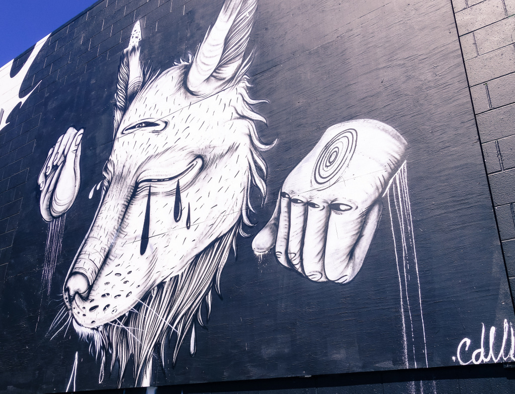 In Pictures – Outdoor Mural Gallery Near 4th And Brannan Street