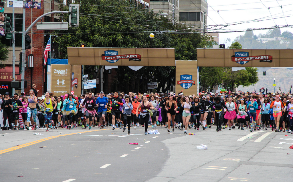 … Go!  Bay To Breakers 2015