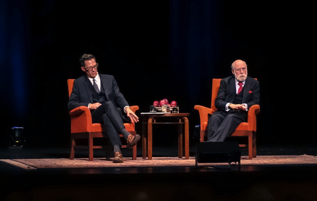 Vinton Cerf Jacob Ward Interview Internet of Things Nourse Theater
