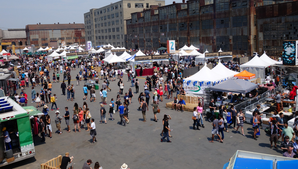Checking Out Street Food Festival's Roomier New Digs At Pier 70