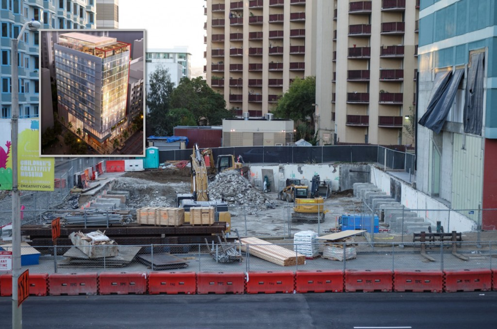 Construction Kickstarts For New Yerba Buena Hotel
