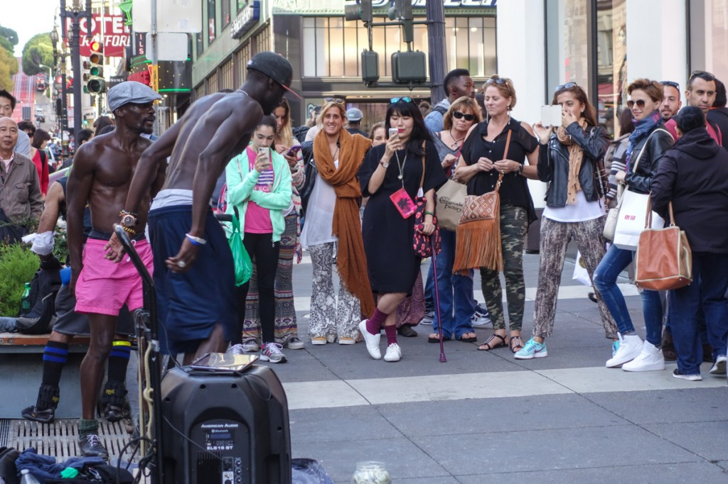In Pictures – Union Square Street Dancers