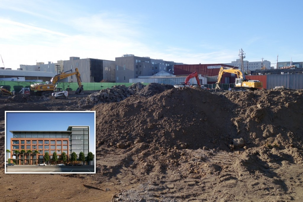 Excavation Underway For New Stripe Headquarters