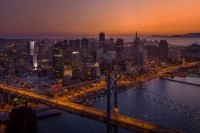 Transbay-Block-8-400-Folsom-250-Fremont-Renderings-Twilight-Skyline