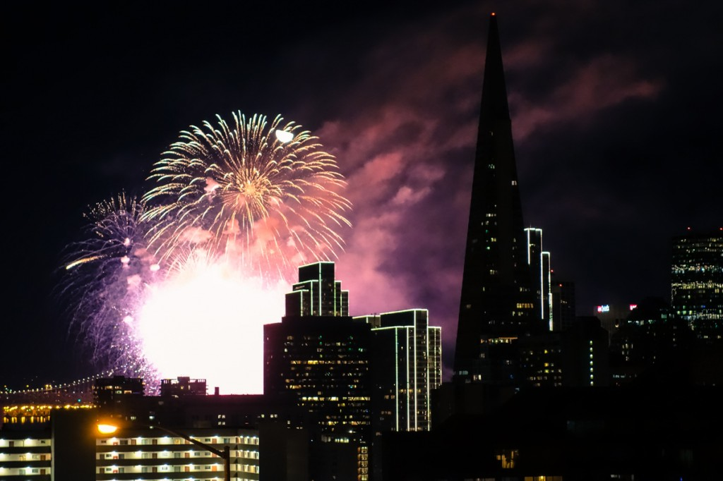 In Pictures – Happy New Year San Francisco