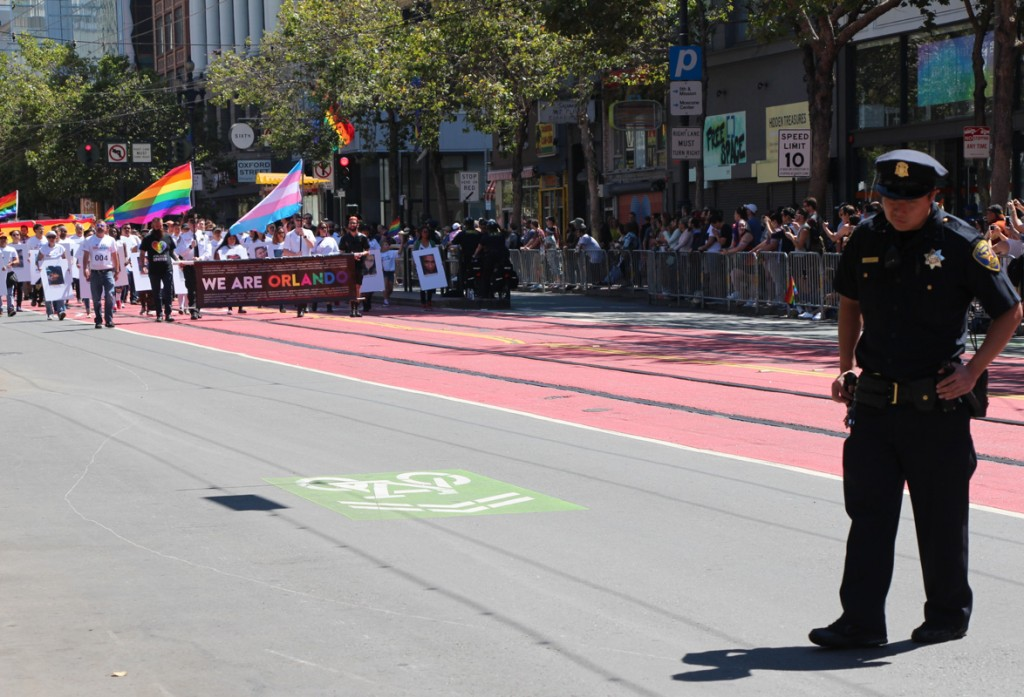 Feeling The Orlando Impact On San Francisco's 2016 Pride Parade
